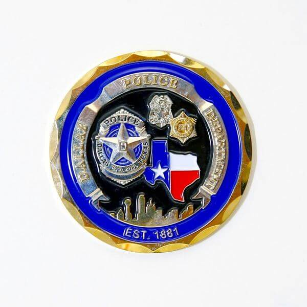 Police Coins - Custom Challenge Coins - Custom Challenge Coins