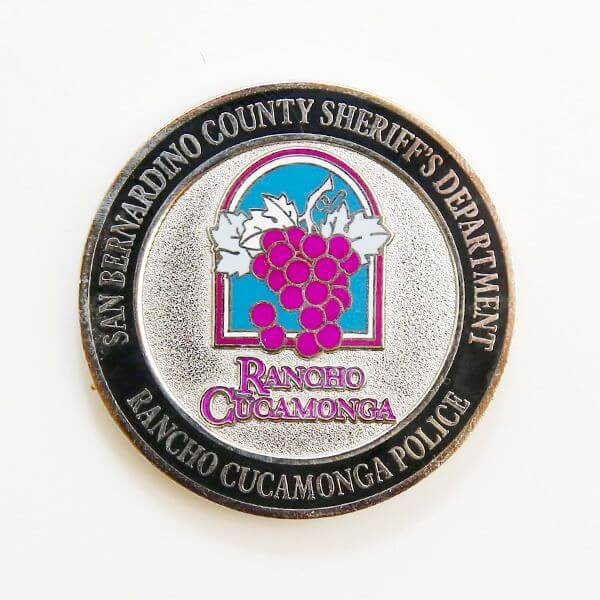 Police Challenge Coin