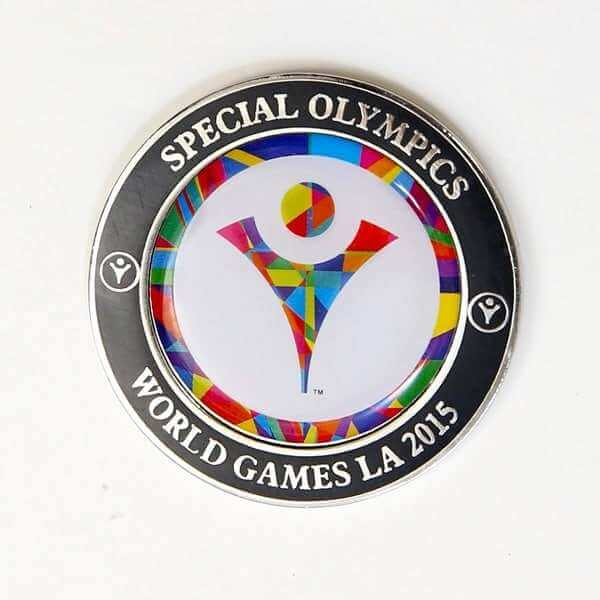 Special Olympics Challenge Coin