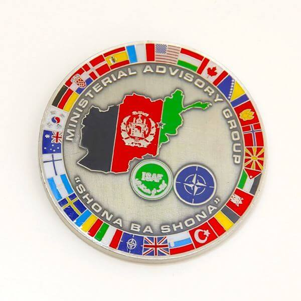 Ministerial Challenge Coin