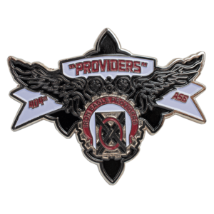 Wing Shaped Challenge Coin