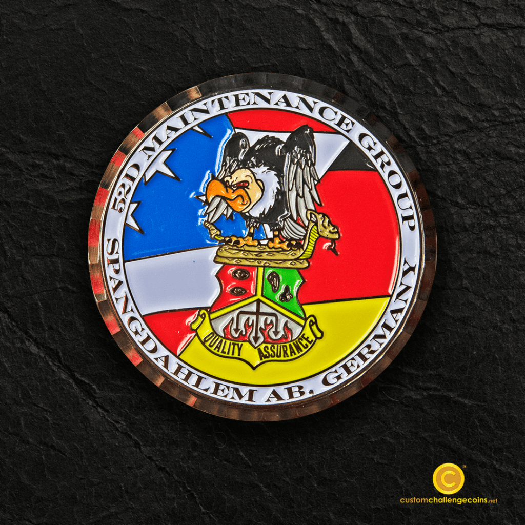 Air Force Coins - Custom Challenge Coins - Custom Challenge