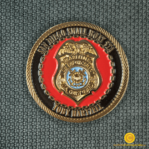 Coast Guard Coin San Diego