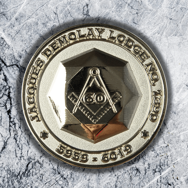 Demolay Coin