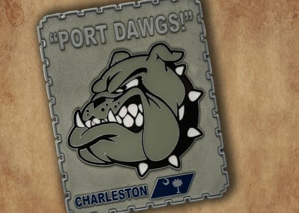 Port Dawgs Challenge Coin