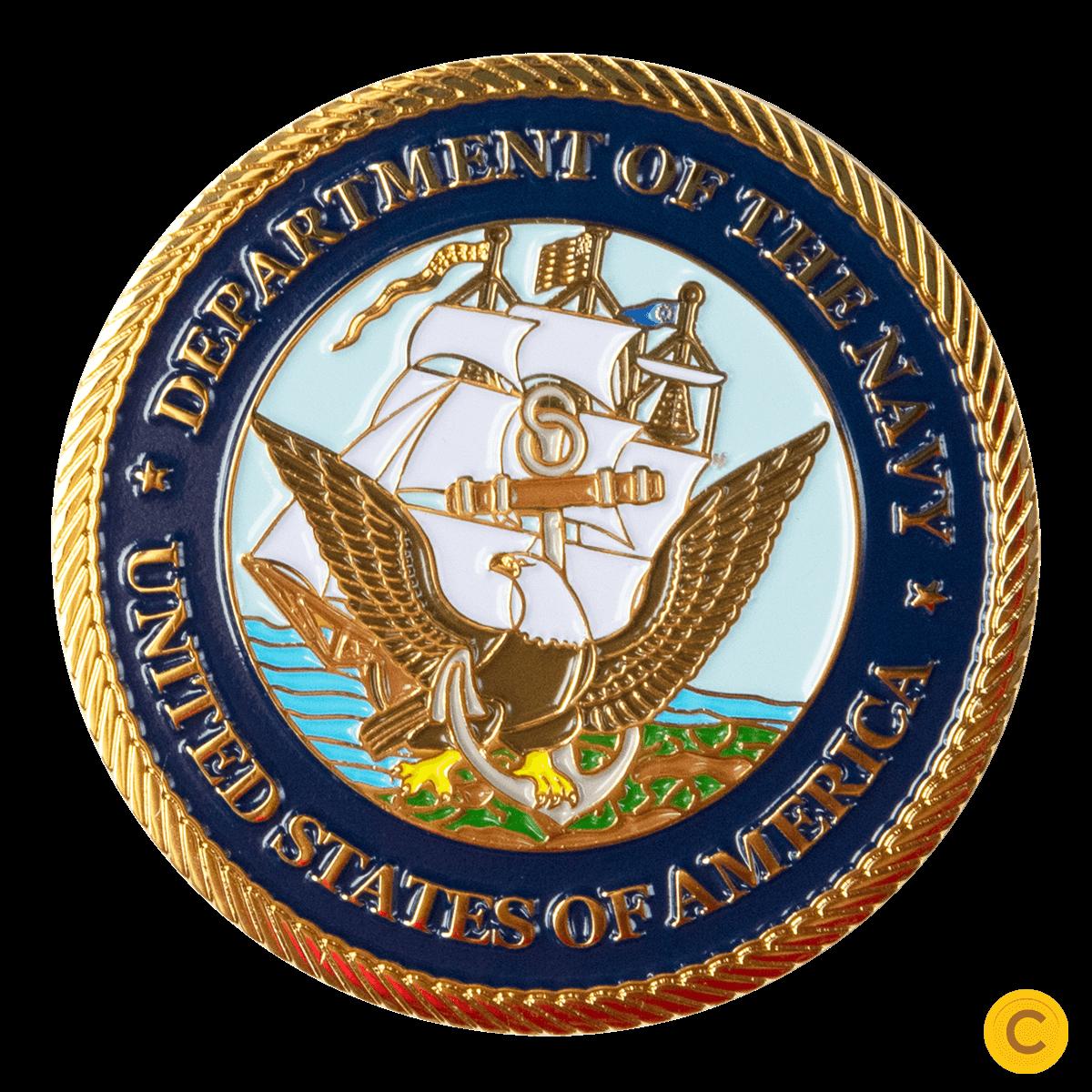 Navy Challenge Coins