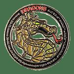 Army Mountain Dragon Challenge Coin