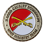 Army National Guard Louisiana Chaplain Challenge Coin