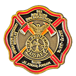 Air Force Fire Protection Challenge Coin