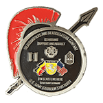 Army St Germany Challenge Coin