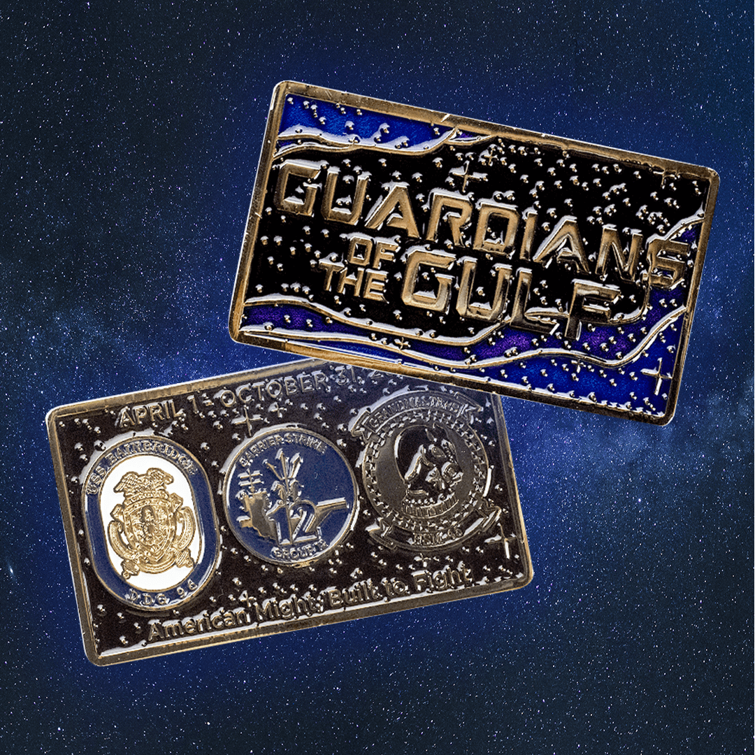 Guardians of the Galaxy Challenge Coin