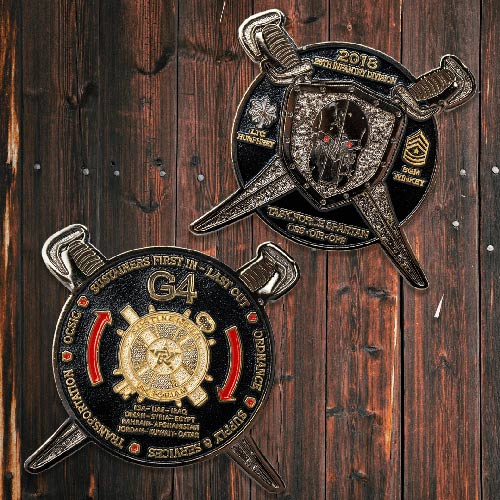 Favorite Military Challenge Coins Army Task Force