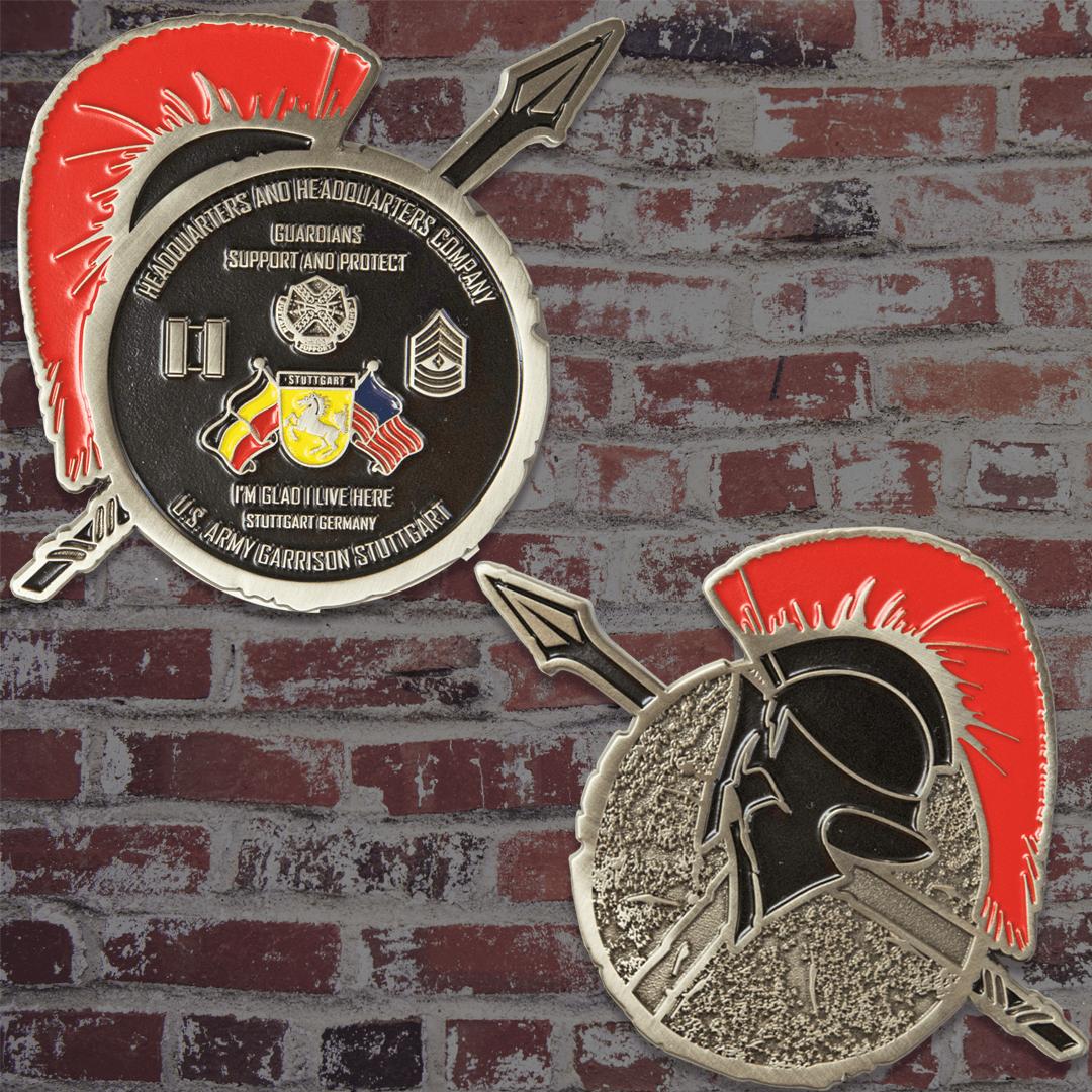 US Army Garrison Stuttgart Challenge Coin