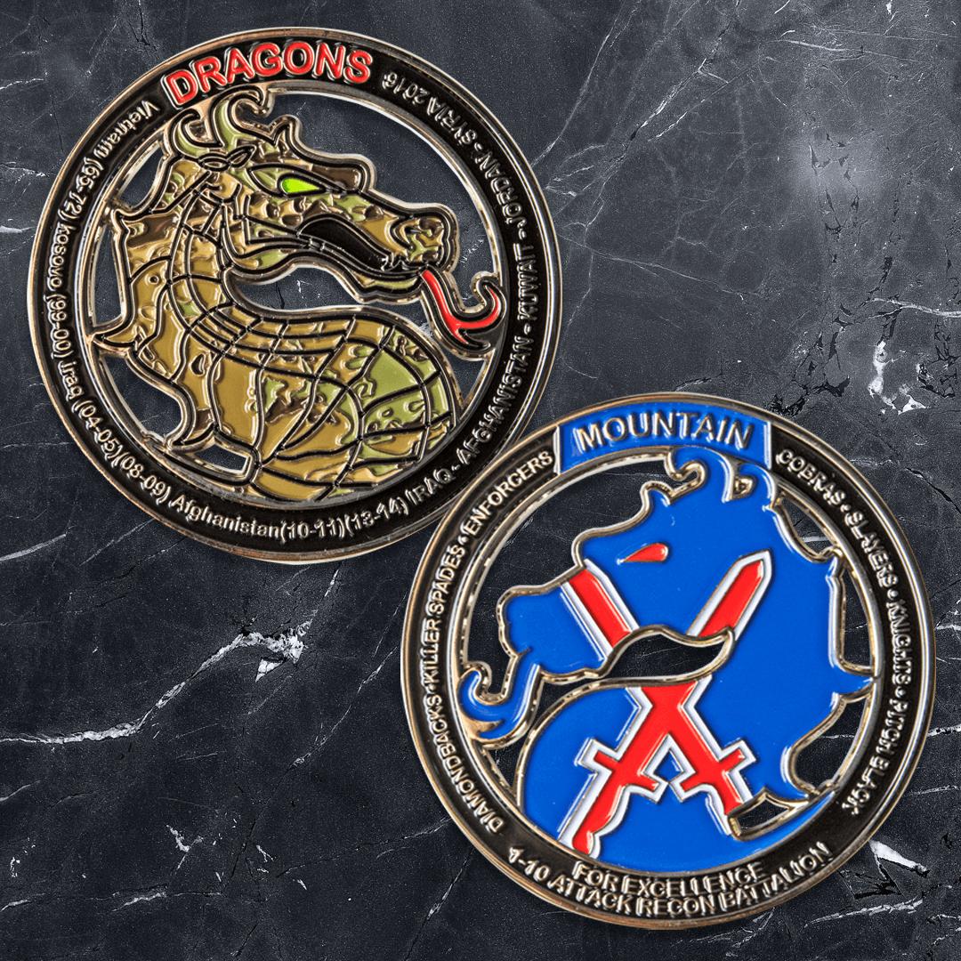 US Army Attack Recon Battalion Challenge Coin