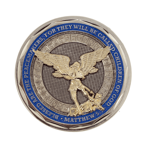 Police Challenge Coin - Back