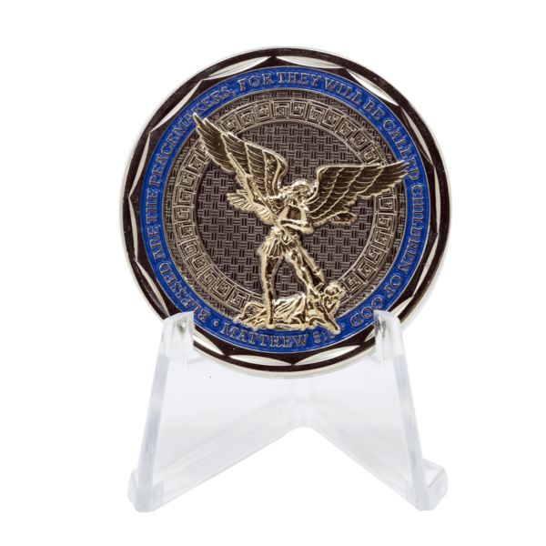 Police Challenge Coin - Back 2