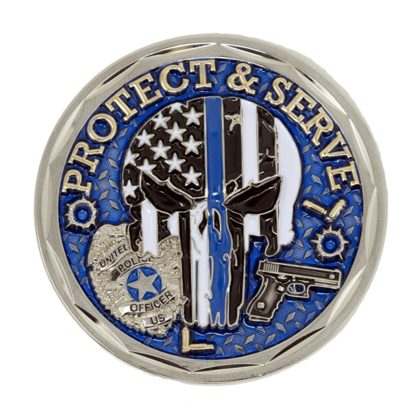 Police Challenge Coin - Front