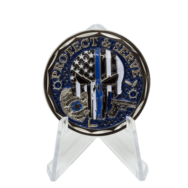Police Challenge Coin - Front 2