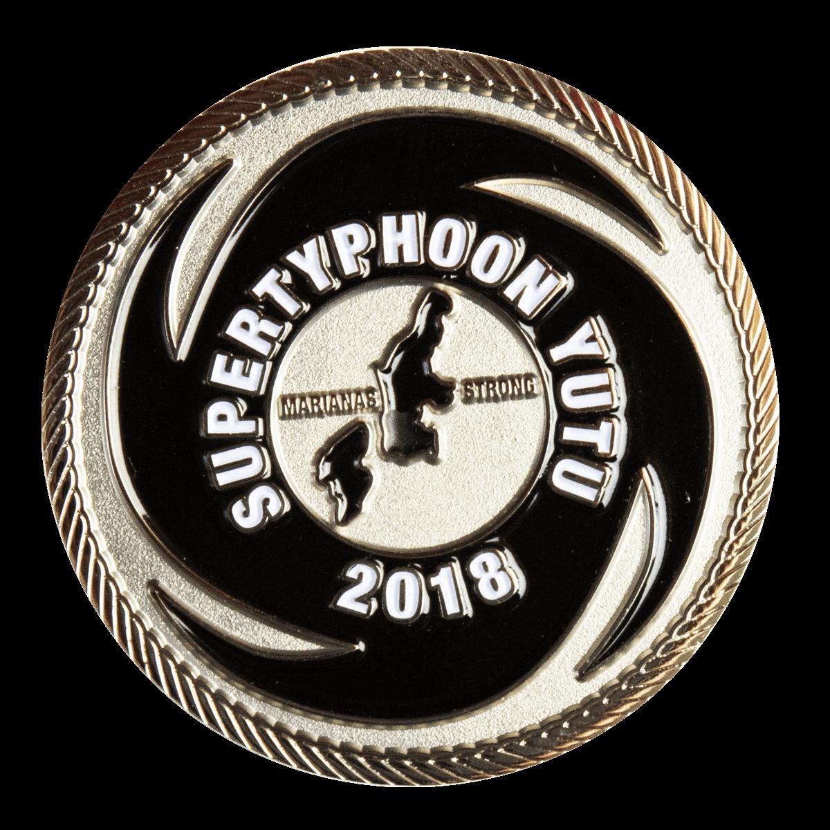 Super Typhoon YUTU Appreciation Coin