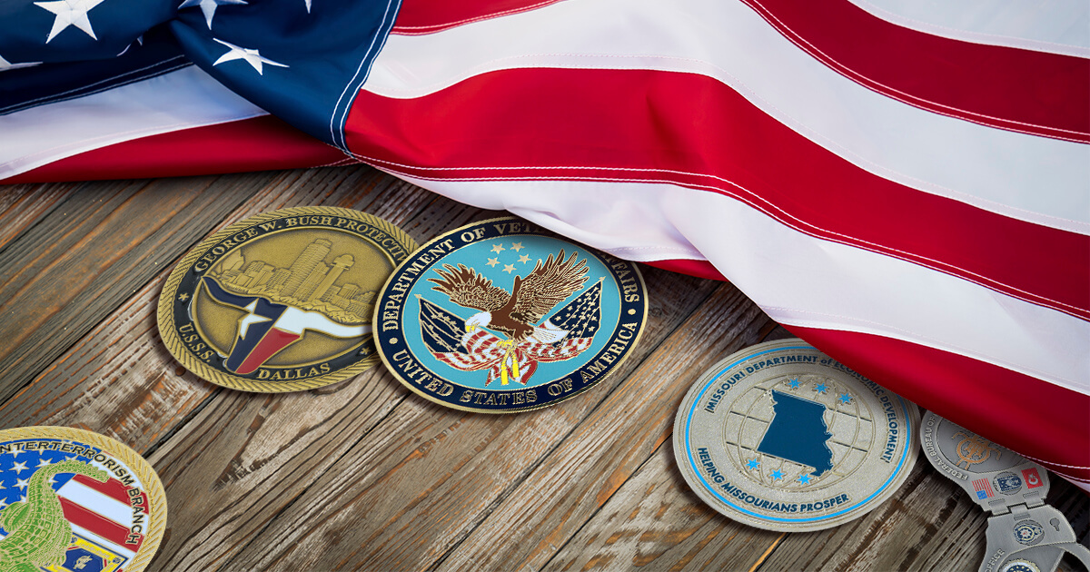Custom Government Challenge Coins